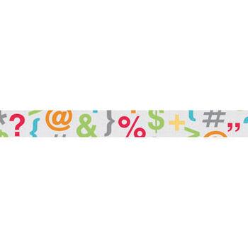 Doodlebug Take Note Washi Tape So Symbolic