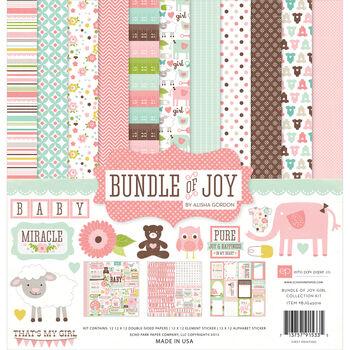 Echo Park Paper Company Bundle Of Joy Girl Collection Kit Baby Girl