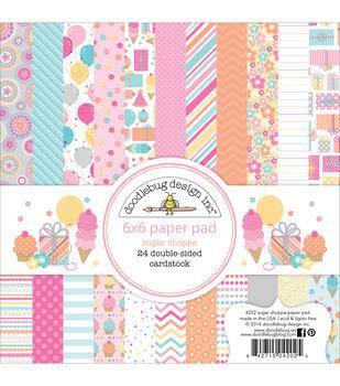 Doodlebug 6X6in - Sugar Shop Paper Pad