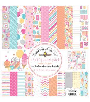 Doodlebug 12X12in - Sugar Shop Papr Pack