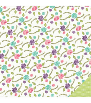 "Little Princess Double-Sided Cardstock 12""X12""-Secret Garden"