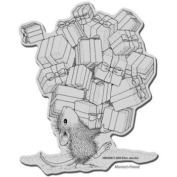 Stampendous House Mouse Cling Stamp Gifts Galore