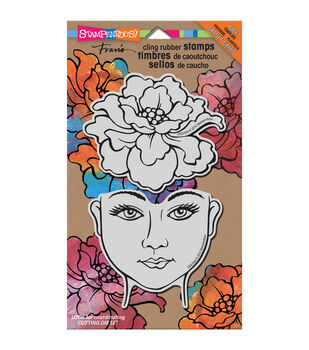 Stampendous Blossom Beauty - Cling Rubber Stamp