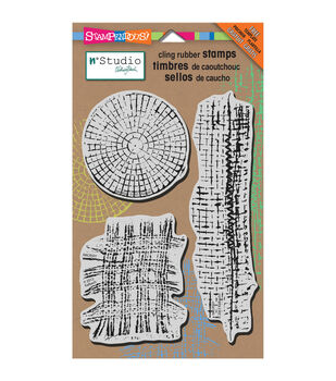 Stampendous Mish Mesh - Cling Rubber Stamp