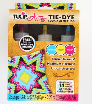 Tulip® Artisan Soda Ash Method Tie-Dye Kit