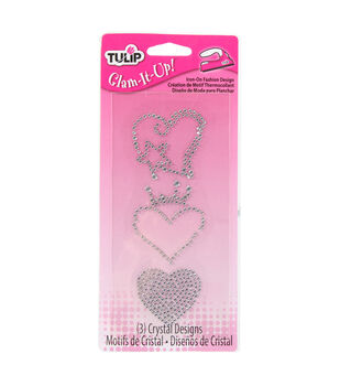 Tulip® Glam-It-Up!™ Iron-On Fashion Design Multi-Pack Heart