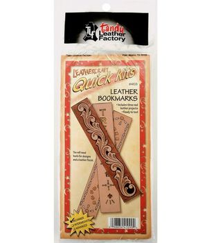 Leather Factory Leathercraft Quick Kits-Bookmarks 3PK