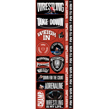 Wrestl Com-real Sport Stickers