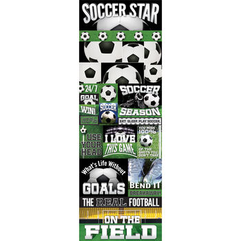 Soccer Gra-real Sport Stickers