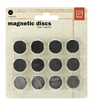 Basic Grey Large Magnetic Snaps