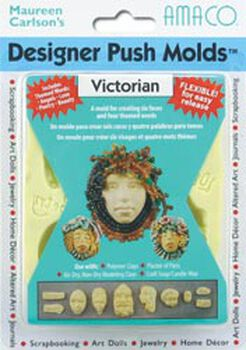 Polymer Clay Designer Push Molds