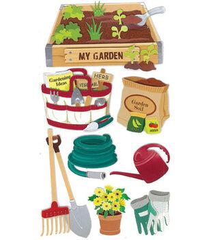 Jolee's Boutique Le Grande Dimensional Sticker-Gardening