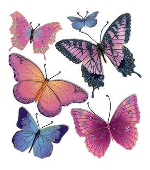 Jolee's Boutique Dimensional Embellishments-Butterflies
