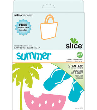 Making Memories Slice MS+ Design Card-Summer