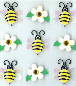 Jolee's Cabochons-Bumble Bees