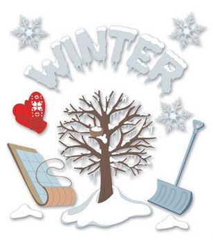 Jolee's Boutique Themed Ornate Stickers-Winter