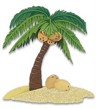 Jolee's By You Stickers-Palm Tree