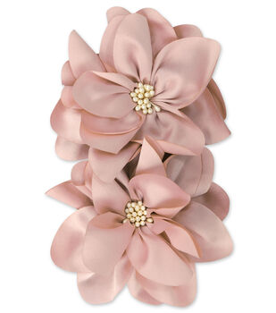 Large Pearly Peach Flower