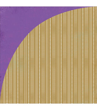 """Aurora Double-Sided Cardstock 12""""X12""""-Cancer"""