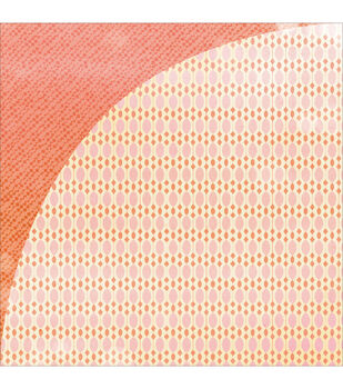 """Vivienne Double-Sided Cardstock 12""""X12""""-Rose"""