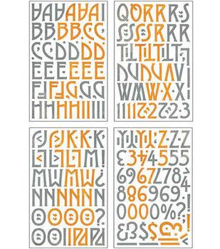 Basic Grey Die-Cut Chip Stickers-Ambrosia Alphas