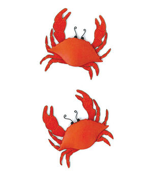 Jolee's By You Dimensional Slim Stickers-Crabs