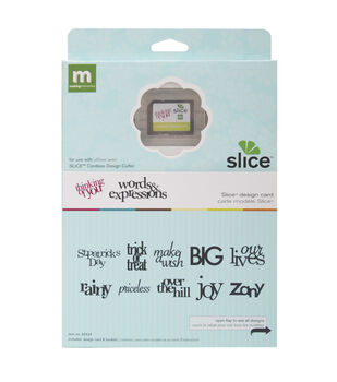 Making Memories Slice Design Card-Words & Expressions