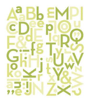 Making Memories Puffy Alphabet Stickers-73PK