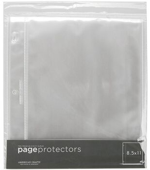 Page Protectors  8.5''X11'' Top Loading