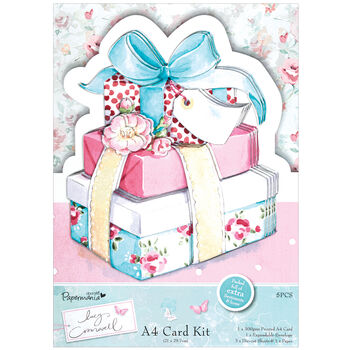 Docrafts Papermania Lucy Cromwell A4 Card Kit