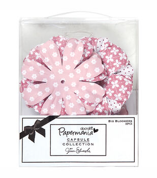 Docrafts Papermania Capsule Big Bloomers Paper Flower Parkstone Pink