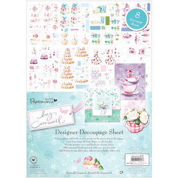 Papermania Lucy Cromwell Designer Decoupage Sheets 8.25''x11.75''
