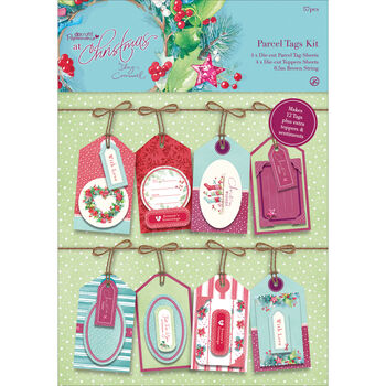 Docrafts Papermania At Christmas Parcel Tags Kit