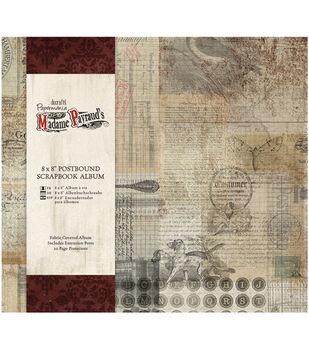 Papermania Madame Payraud Postbound Album 8''x8''