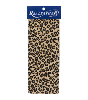Realeather Crafts Trim Piece - Leopard