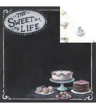 Melissa Frances The Sweet Life Sweet Life Double-Sided Cardstock