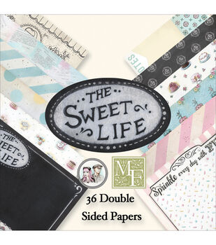 Melissa Frances The Sweet Life Double-Sided Paper Pad