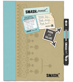 K&Company Retro Blue Smash Folio