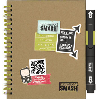 Play Mini SMASH Book-With Pen and Glue