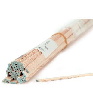 Balsa Wood Strip 36''-3/8''X3/8''