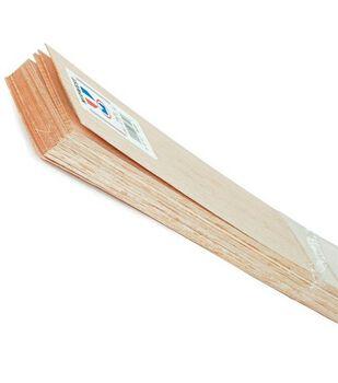 Balsa Wood 36'' Sheets-5PK/1/2''x3''