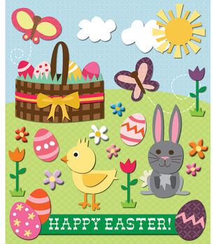 K & Company Stickers-Easter