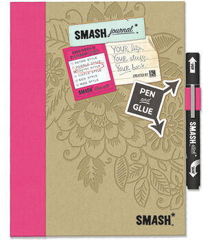 K & Company Pretty Pink Smash Folio