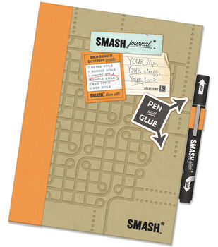 K&Company Simple Orange Smash Folio