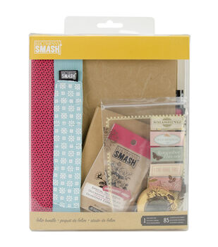 SMASH Folio Bundle 86pcs-Pink