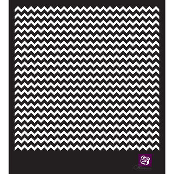 Prima Marketing Designer Stencil Chevron