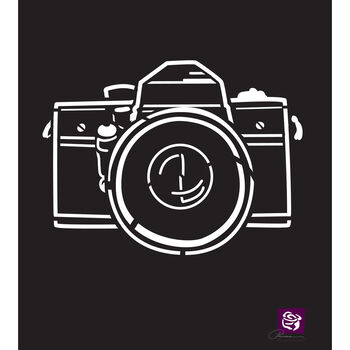 Prima Marketing Designer Stencil Camera