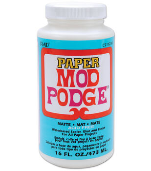 Mod Podge Paper Matte Finish-16oz