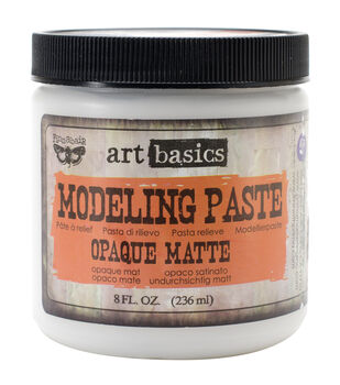 Opaque Matte-Art Modelng Paste 8 Oz