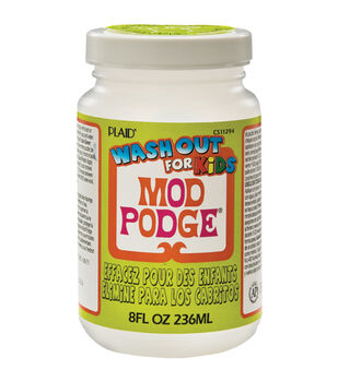 Mod Podge Kids Glue Wash Out-8oz